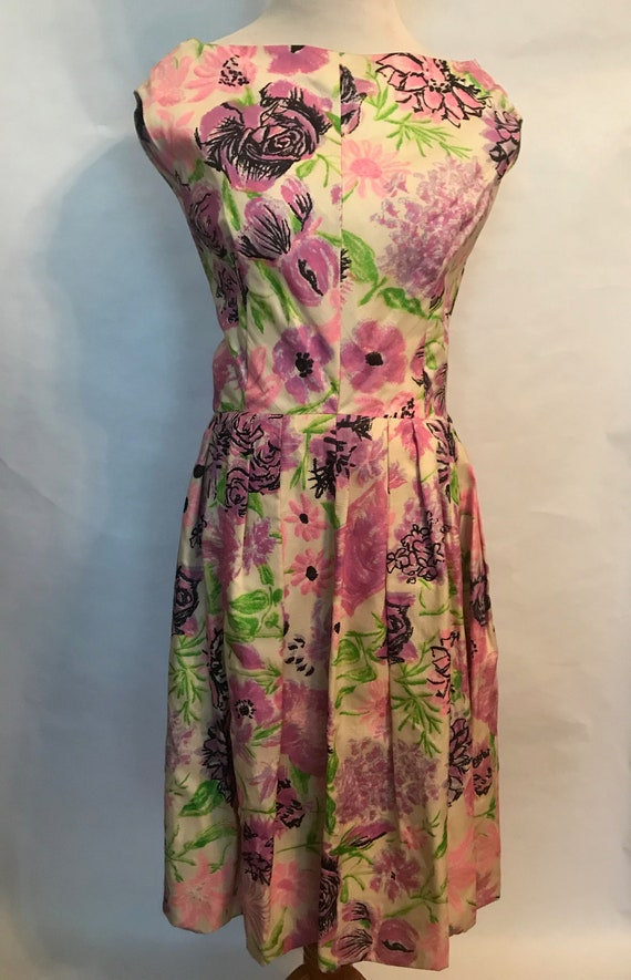 Suzy Perette 60's silk dress