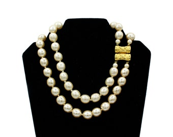 Karl Lagerfeld Pearl Necklace