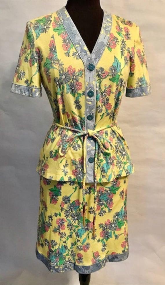 70's Averardo Bessi Top and Skirt
