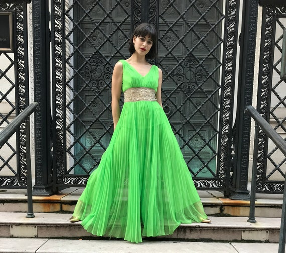 Incredible 60's green jumpsuit
