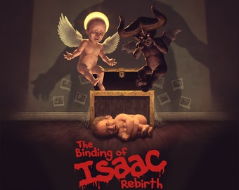 Binding of Isaac Rebirth Poster