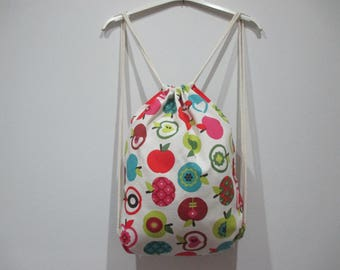 Backpack fabric, bag, backpack, adult, teen or children.