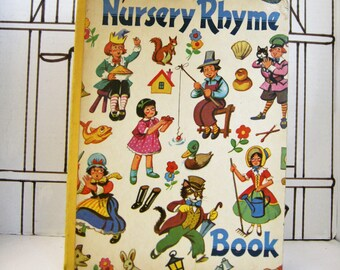Nursery Rhyme Book (Vintage, Children)