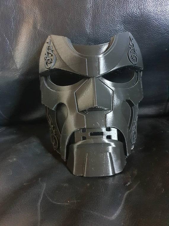 3d Printed Dr Doom Mask Version 2 Print Commisson Etsy