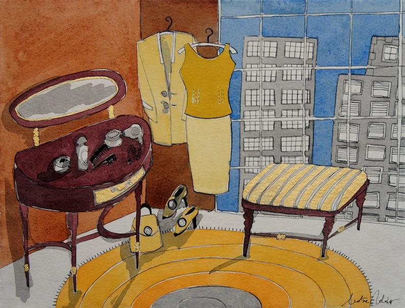 Ready to dress print home decor montseroldos_artworks art / image 0