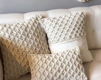 Macrame Pillow cover