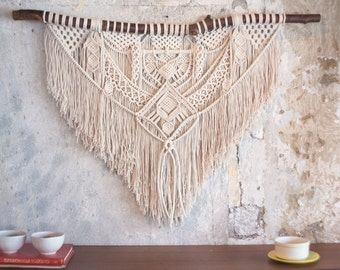 ILORA. Macrame wall hanging, tapestry