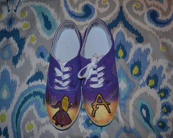 Anastasia Broadway Hand-Painted Shoes
