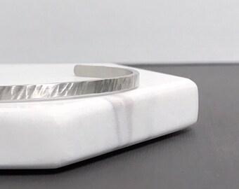 Ripple Cuff Bracelet - Thin