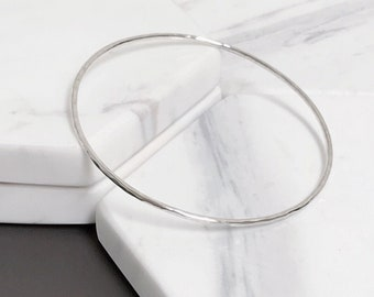 Texture Bangle Bracelet