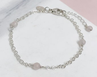 Rose Quartz  Bracelet - Love