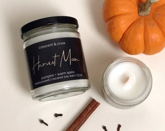 Harvest Moon - Fall Candle Collection