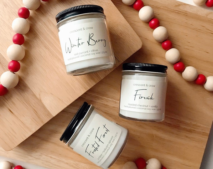 Featured listing image: Try Me Trio - Winter Candle Collection