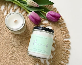 Bergamotto - Coconut Soy Candle