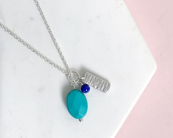 Oceans Charm Necklace Set