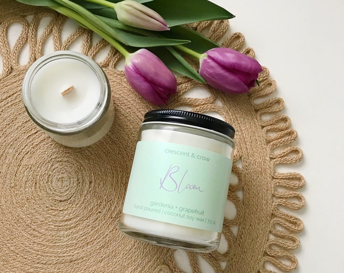 Featured listing image: Bloom - Coconut Soy Candle