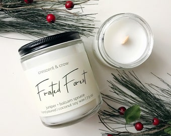 Frosted Forest - Coconut Soy Candle