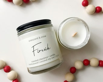 Fireside - Coconut Soy Candle