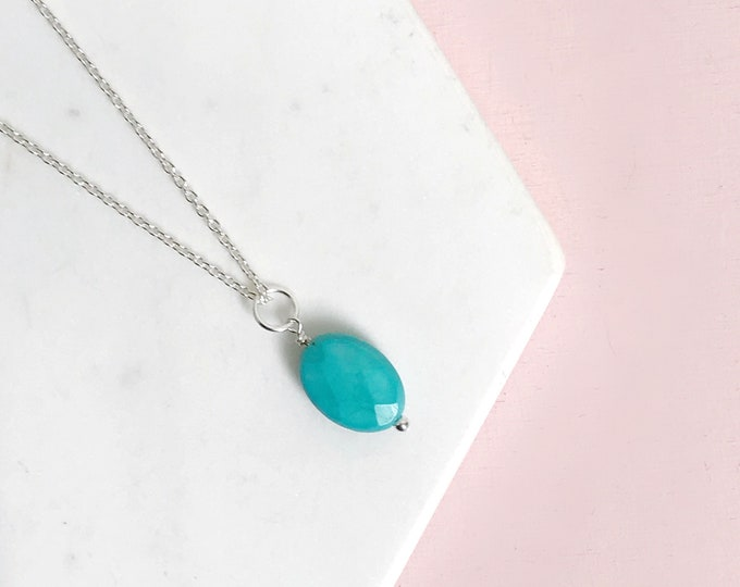 Featured listing image: Turquoise Charm Necklace