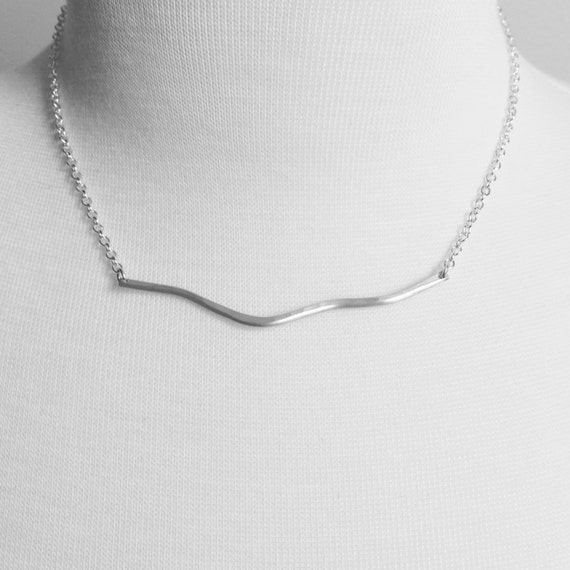 Driftwood Necklace - Sterling Silver