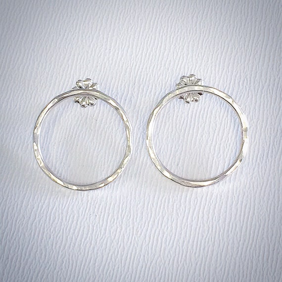 Texture Earrings - Sterling Silver