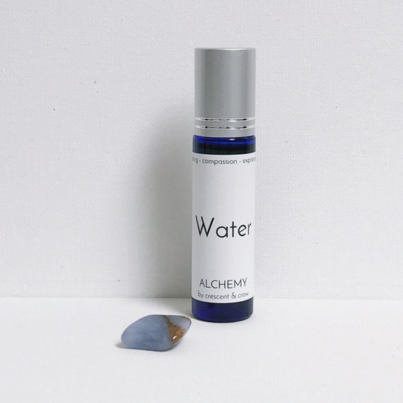 Water Element Roll-on Oil with Chalcedony Stone