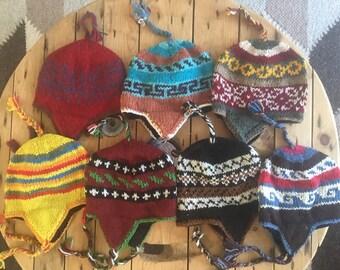 17aae4202b6 Nepalese wool earflap hat