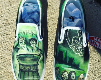 Harry Potter and the Half-Blood Prince Hand Painted Vans