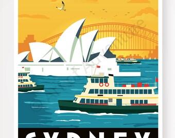 Harbour Ferry – Sydney Australia