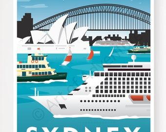 Harbour Cruise Liner – Sydney Australia