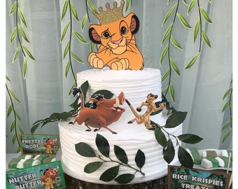 Lion king cake topper  5fcc82c2c
