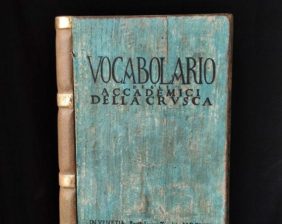 Libro scatola in legno