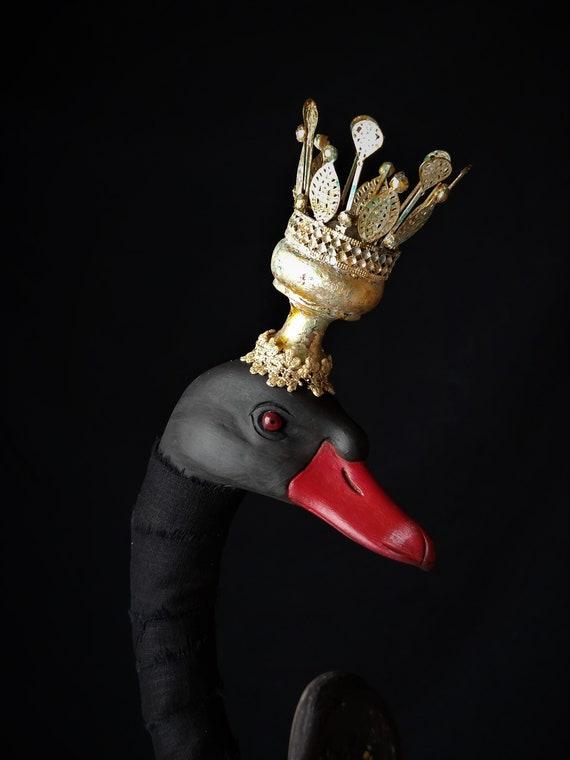 Cigno nero, altezza 91 cm