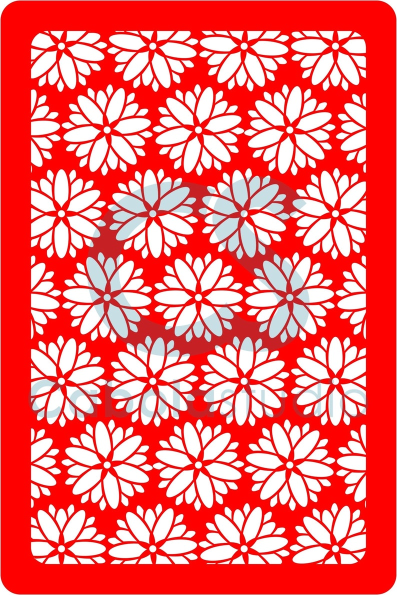 reusable and easy to operate AP 006 18 Stencil Made of soft plastic material Daisy
