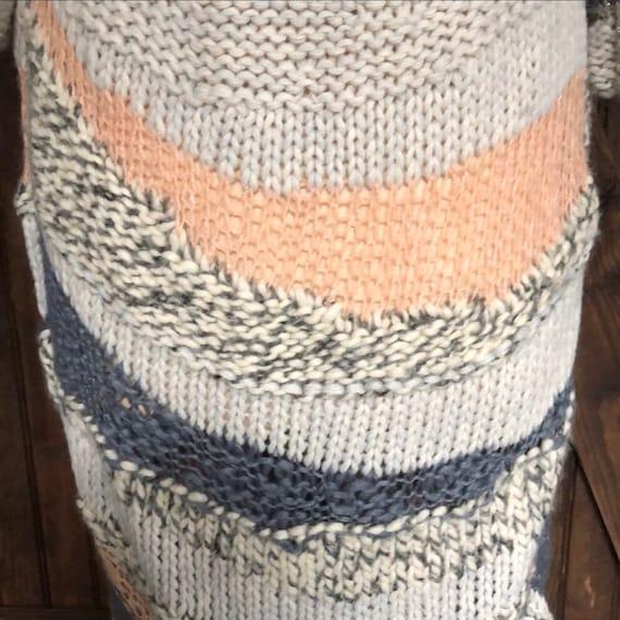 Free People Vintage Boho Chic Crocheted Sweater C… - image 6