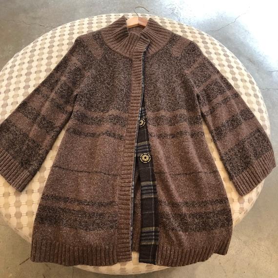 Free People Vintage Wool Blend Snap Front Sweater