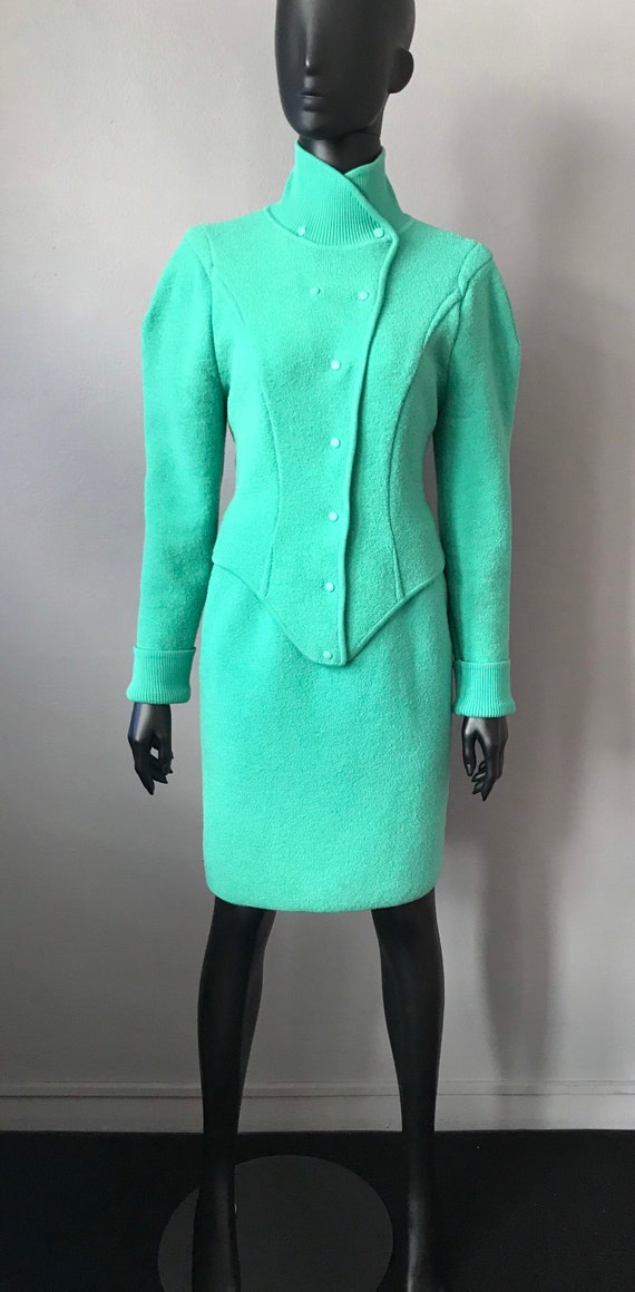 Vintage 1980's Thierry Mugler suit