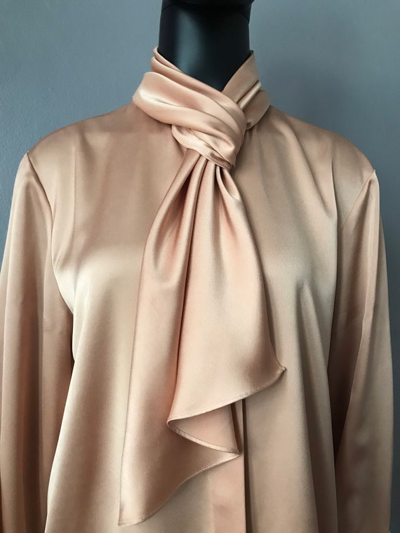 1980's vintage Louis Feraud blouse - image 3