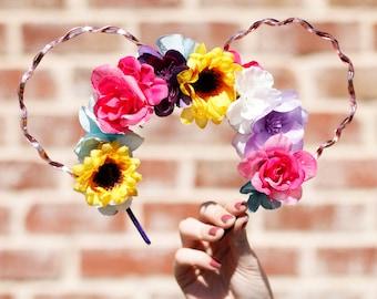 Rapunzel/Sunflower Floral Ears