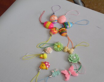 Easter theme planner, bag, purse, journal, cell phone charms