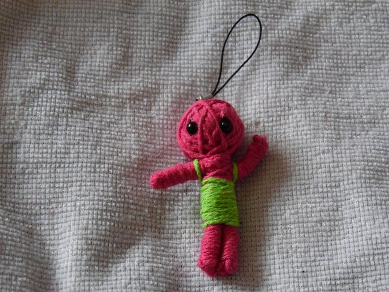 Pink VooDoo Doll