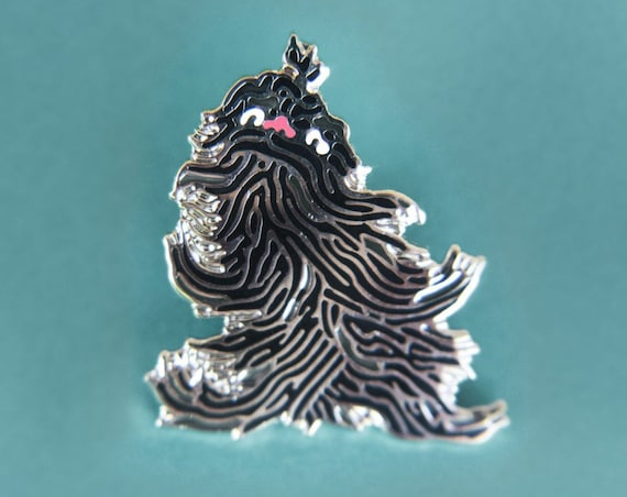 Japanese youkai lapel pin : Keukegen