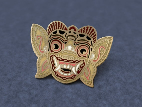Hanuman lapel pin (monkey god)