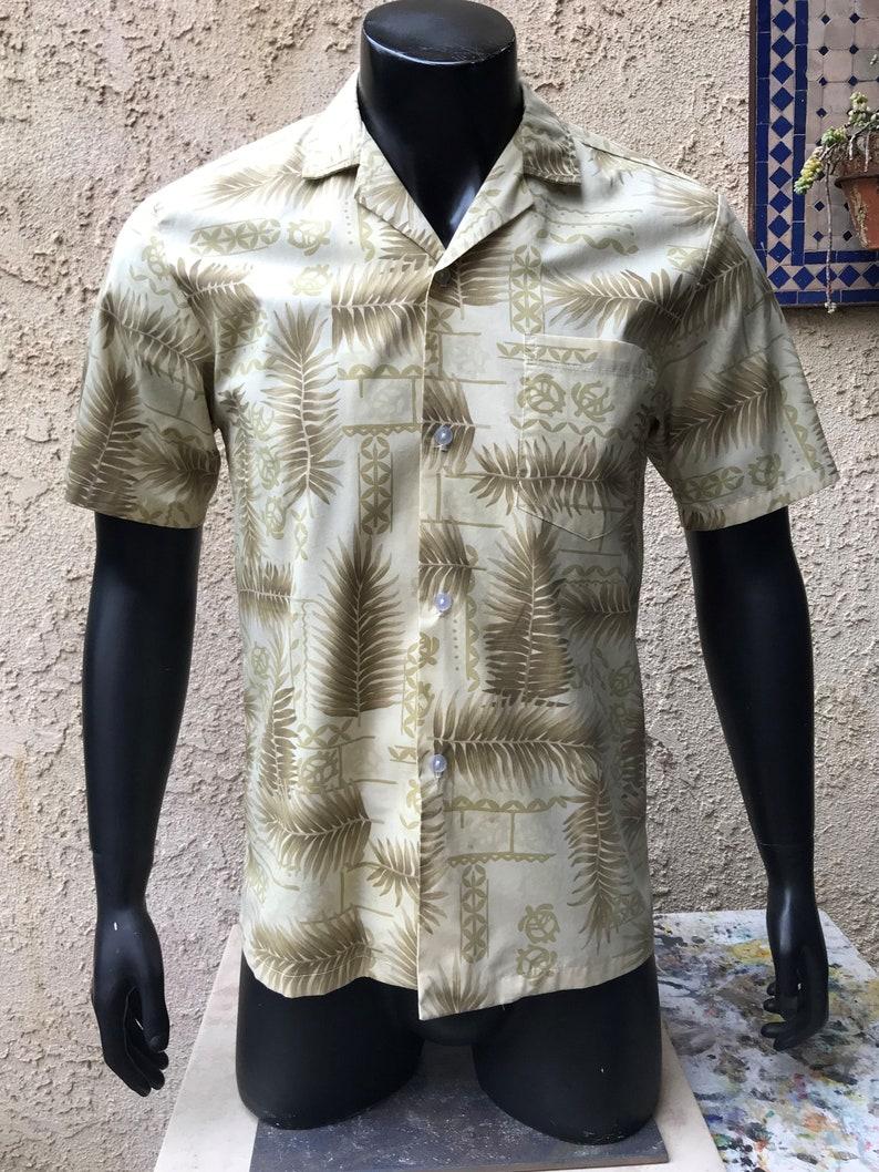 ef29fd92 Paradise Style Men's Hawaiian Shirt Vintage 80's | Etsy