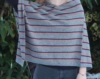 100% Cashmere Poncho, Gift for her, poncho, fairly traded, Nepalese cashmere, unique gift