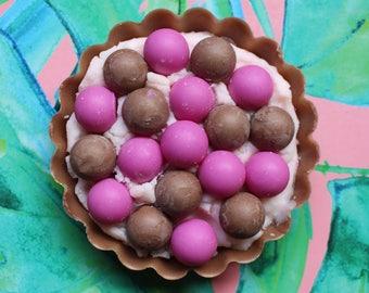 Raspberry Fluff Tart   Cake Bake, Angel Food Cake, Black Raspberry Scented Soy Wax Melt   The Waxy Bar