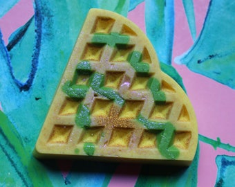 Lemon Lime Soda | Scented Soy Wax Waffle Melt | The Waxy Bar