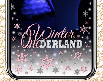 Personalized Snapchat Geofilter; Winter Retreat Snapchat Filter; Birthday Snapchat Filter; Winter; Ski trip Snapchat Filter