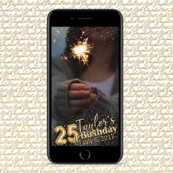 Photo 13th Birthday Geofilter Snapchat Geofilter with Photo 13th Birthday Party Geotag Bday Filter Snapchat 13th Bday Snapchat Animated Snap