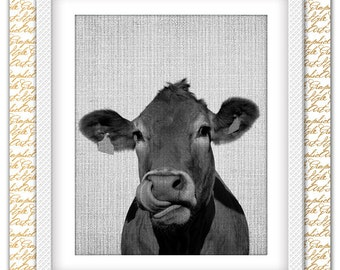 Cow print, Cow art, Cow poster, Cow printable, Cow wall art, Cow wall decor, Cow decor, Farm art decor, Farm Animals, Farm Decor, Animal art
